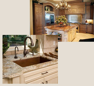 Pasadena Tile Marble Granite Prefab Quartz Rta Kitchen